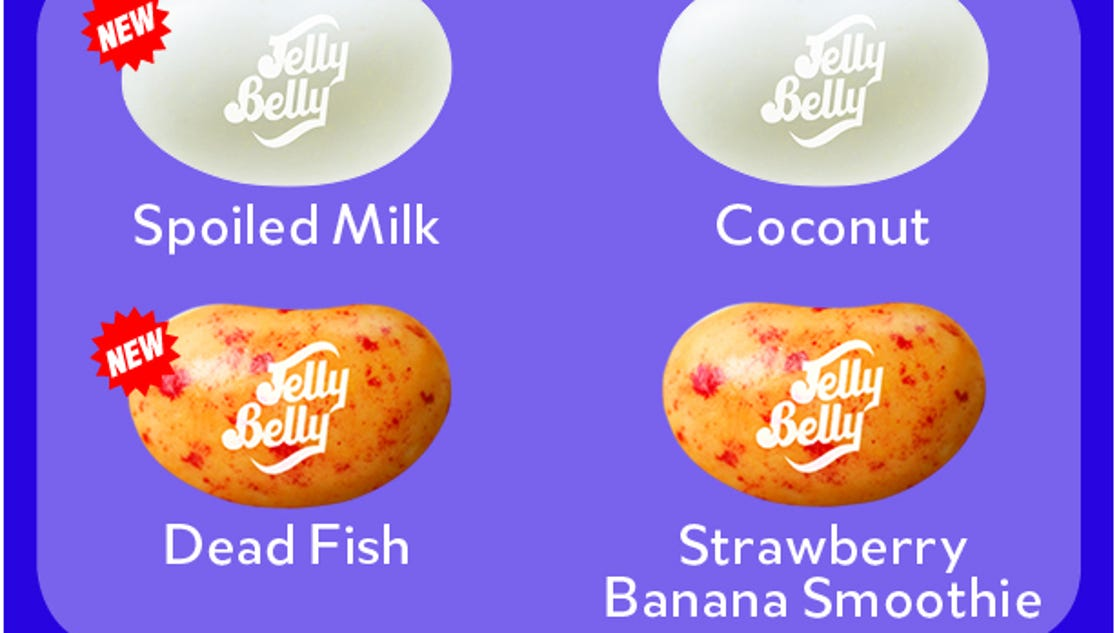 exclusive we tested new jelly bean flavors spoiled milk