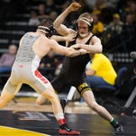 Iowa wrestling to lean on senior Phillip Laux at lightweight