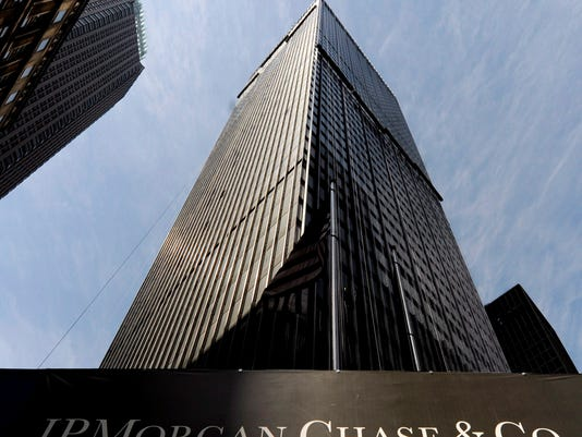 EPA FILE USA ECONOMY JPMORGAN