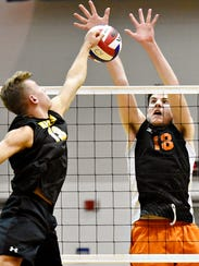 Cole Johnson, seen here playing for Central York last