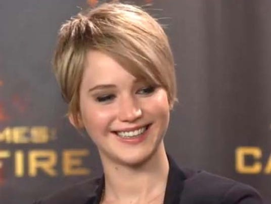 Jennifer Lawrence cut
