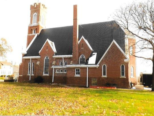 St. Mary's Catholic Church in Nichols was restored