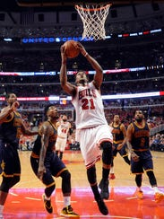 Jimmy Butler, the NBA's Most Improved Player this season,