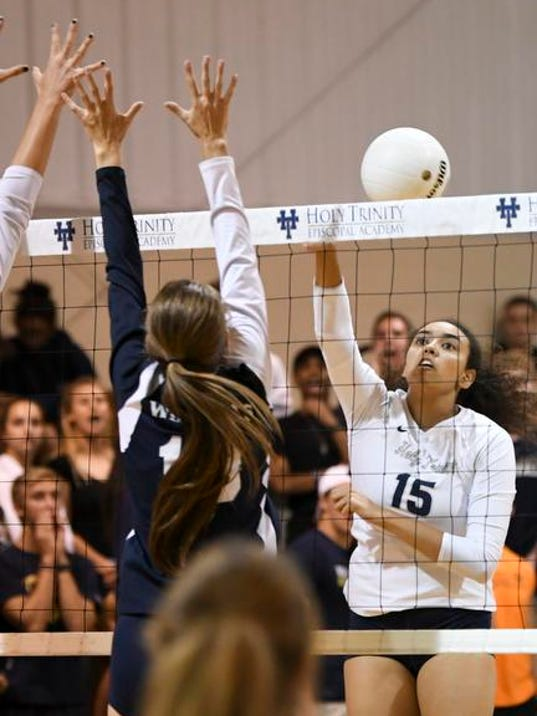 High School Volleyball: West Shore at Holy Trinity