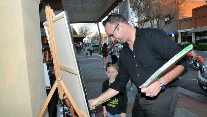 First Friday Downtown Visalia is a designated Special Project of the Arts Consortium, and is funded in part by a grant from the City of Visalia Community Arts Grant Program.