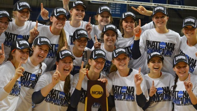 The Hope College volleyball team won the 2014 NCAA national championship.