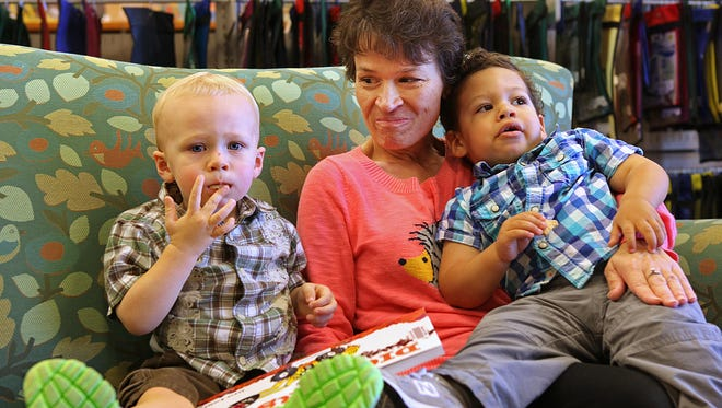 """Marie LePage of Cincinnati is the children's librarian at Boone County Library. Kids know her as """"Miss Marie."""" LePage has been battling oral cancer for the past eight years and next week she will have her tongue removed. She'll no longer be able to do what she loves - telling stories and singing to children."""