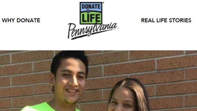 All it takes is to check a box on your driver's license renewal, or visit http://www.donatelifepa.org and register as an organ donor.