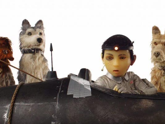 Isle of Dogs art