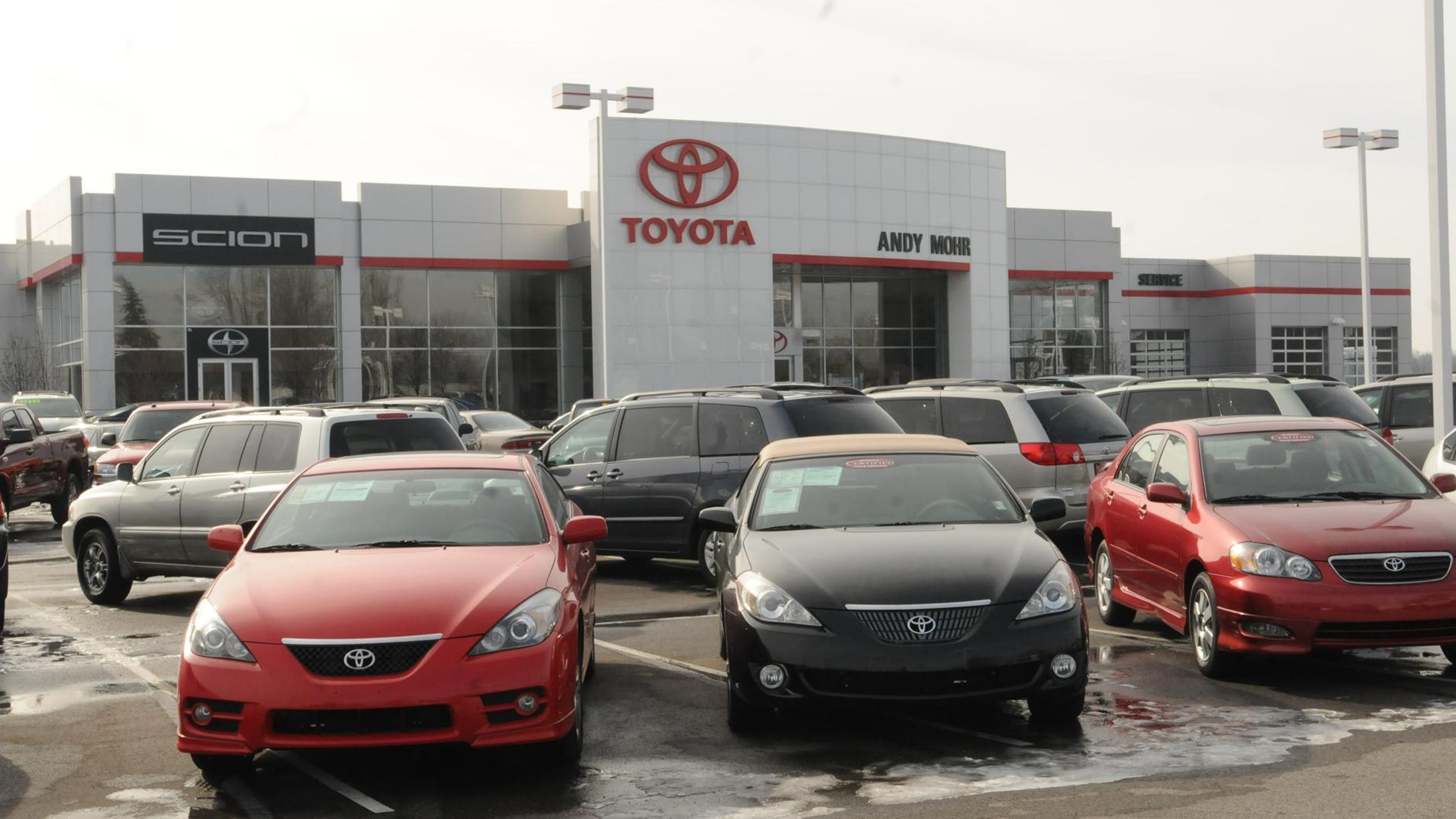 Appeals court halts Toyota dealer s move from Anderson to Noblesville