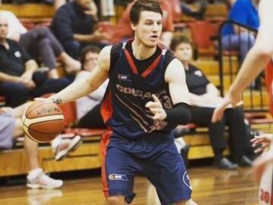 Austin Treweek is a 6-foot-1 guard originally from the Melbourne, Australia. He played his senior year in high school in Logan, West Virginia.