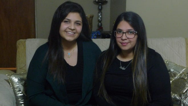 Two Haledon sisters, Sarah and Tolene Abaza, went on a relief mission to a Syrian refugee camp in Jordan.