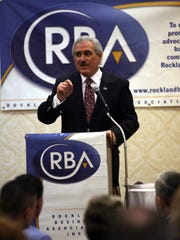 Al Samuels, president and CEO of the Rockland Business