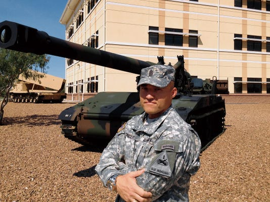 Command Sgt. Maj. John P. Condliffe is the new senior enlisted leader for 1st Armored Division Artillery.
