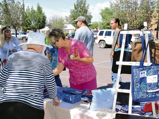 The Deming MainStreet Market will be open from 8 to 11 a.m. on Saturday at the Luna County Courthouse Park.