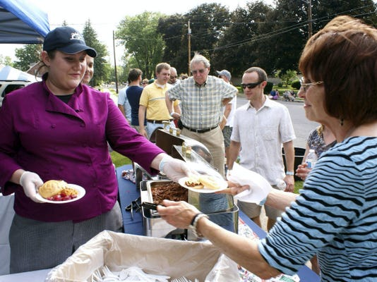 Cumberland Valley School of Music's sixth annual Chefs' Walk is June 6 this year, with samples of gourmet cuisine from eight stations along Alexander Avenue, Chambersburg, and live outdoor music.