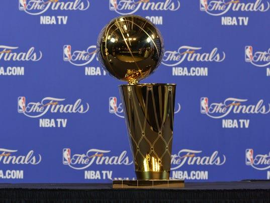 NBA trophy