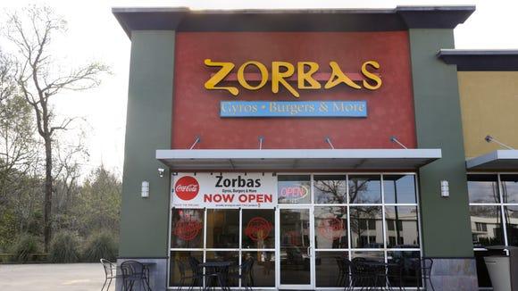Zorba's on Pinhook.