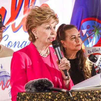 Bordallo announces her run for re-election in Hagåtña