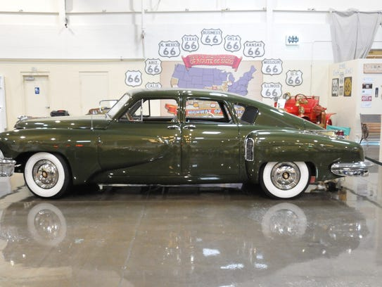 1948 Tucker is owned by Ted Stahl of Chesterfield Township.