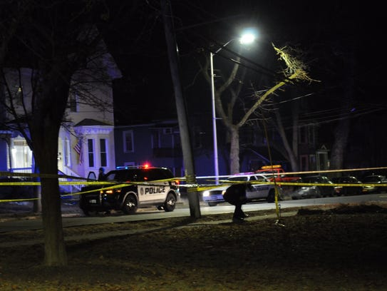 Police investigate a fatal shooting in Poughkeepsie