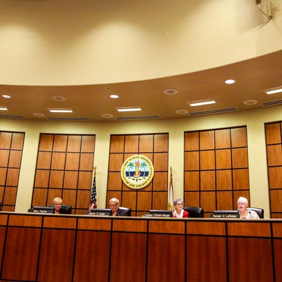 Two meetings are planned today for the Lee County school