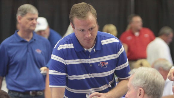 Louisiana Tech athletic director Tommy McClelland gave