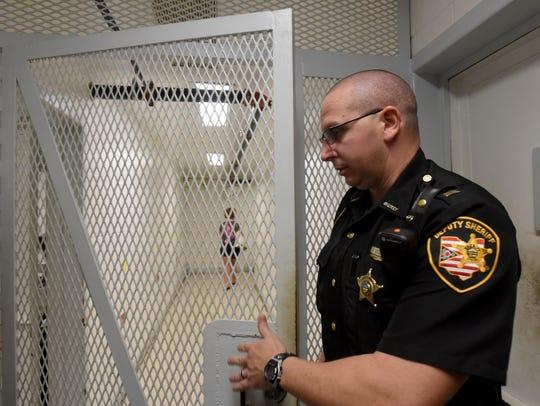 Coshocton Justice Center Jail Administrator Lt. Chip