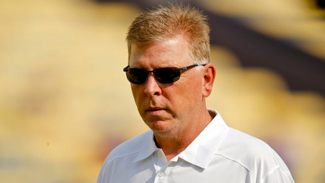 Offensive coordinator Cam Cameron will be under much scrutiny this spring.