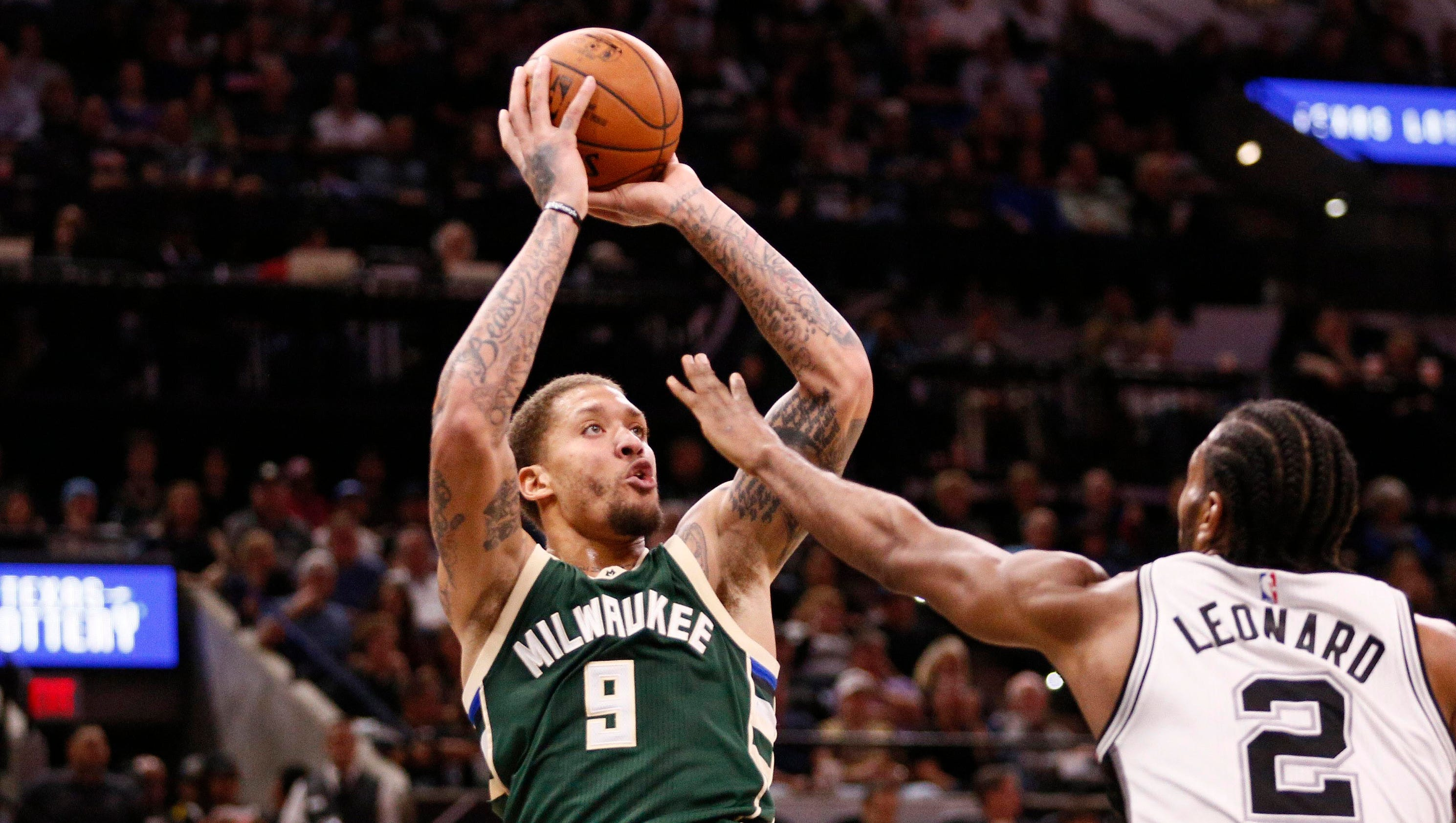 Bucks Beasley sets right pace for youngsters
