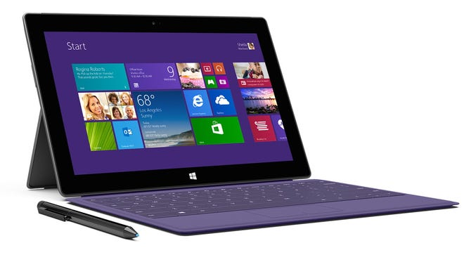 Microsoft's Surface 2 tablet.