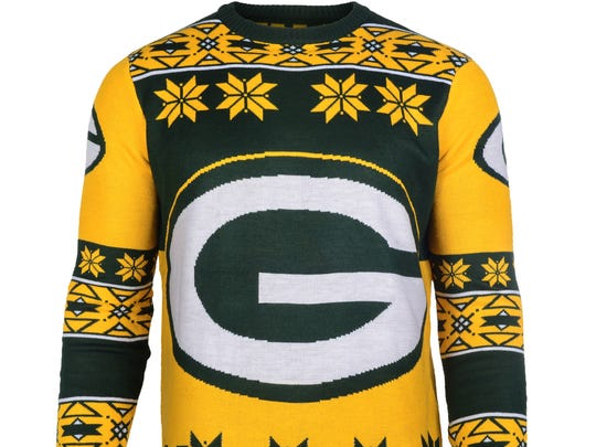 c06ec928667 Now that s an ugly Packers sweater