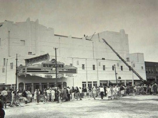 The St. James Theatre in Asbury Park was the only 70mm theater in central Jersey, according to Carney.