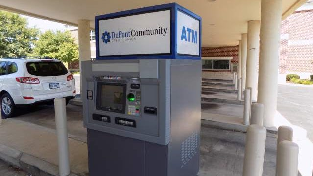 An ATM at the Dupont Community Credit Union in Waynesboro was fitted with an illegal skimming device, police said.