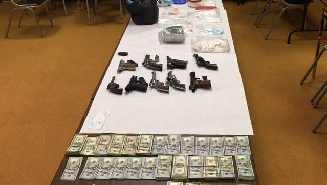 Indiana State Police troopers in Fulton County conducted an investigation on Jan. 17, 2017 that resulted in the seizure of nearly three pounds of meth and more than $200,000.