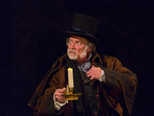 "Greg Wood stars in ""A Christmas Carol"" at McCarter"