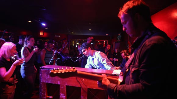 Low Cut Connie performs at Oddity Bar in Wilmington in May 2014.