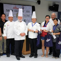 Micronesian Chefs' Association offers 10 course dining experience