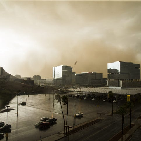 This is why dust storms are called 'haboobs' in Arizona