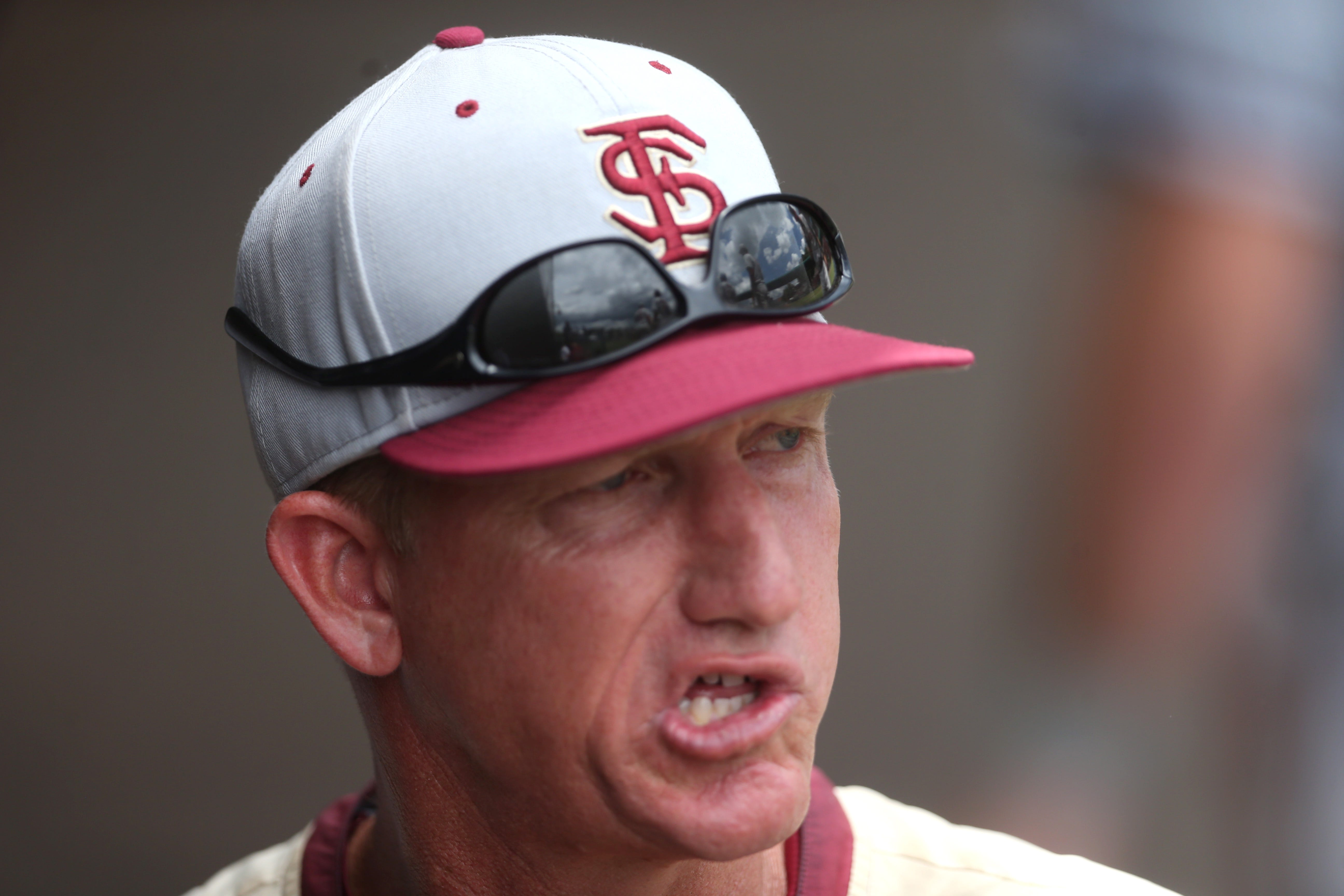FSU Associate Head Coach Mike Bell Yells Out To His