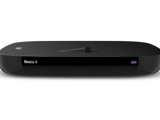 This photo provided by Roku shows the Roku 4. Roku joins TiVo, the Shield and Fire TV in supporting super-sharp video in an emerging format known as ultra-high definition, or 4K.