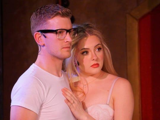 Brad (Vince Miller) and Janet (Carolyn Billingsley)
