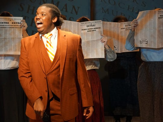 "A scene from ""Ragtime"" at Springfield Contemporary Theatre."