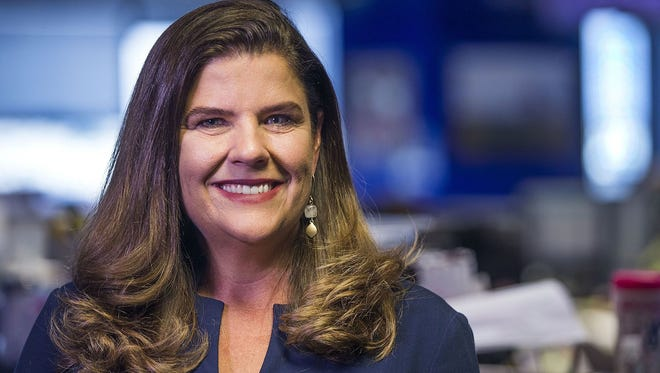 Nicole Carroll, the former editor of the Arizona Republic, was named the editor in chief of USA TODAY on Feb. 14, 2018.