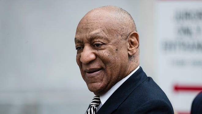 Bill Cosby at hearing in his sexual assault case at the Montgomery County Courthouse in Norristown, Pa., April 3, 2017.