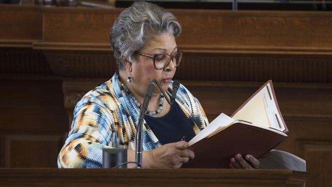 State Rep. Senfronia Thompson D-Houston, announced Friday she is running for Texas House speaker. [RICARDO B. BRAZZIELL/AMERICAN-STATESMAN]