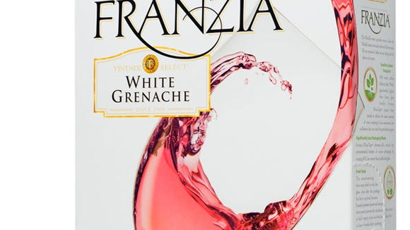 A laboratory claims Franzia White Grenache has high levels of arsenic in it.