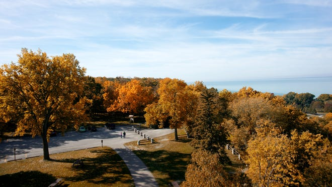 A view from High Cliff State Park in Calumet County.