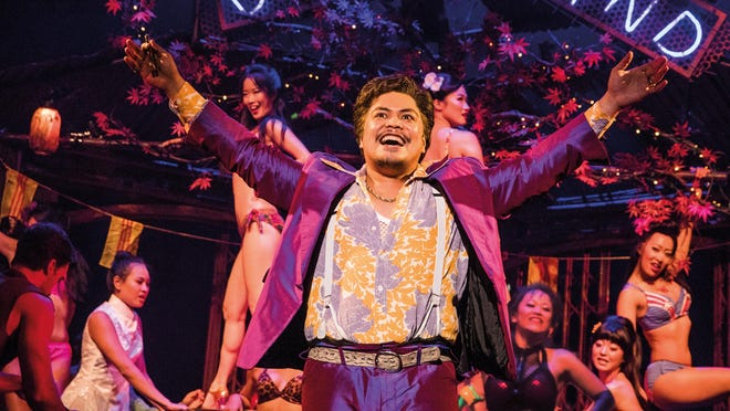 Red Concepcion plays the Engineer in the revival of ''Miss Saigon.'' The show runs through Sunday at the Kravis Center in West Palm Beach.