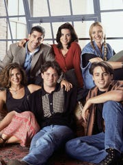 """Friends"" first aired in 1994 and ran for 10 years on NBC."